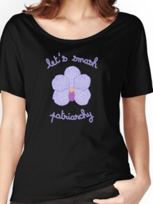 Let's Smash Patriarchy - Purple Orchid Women's Relaxed Fit T-Shirt