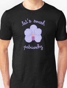 Let's Smash Patriarchy - Purple Orchid Unisex T-Shirt