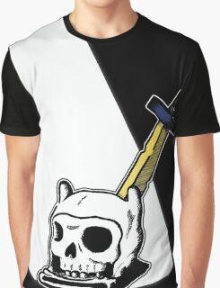 Death Of A Hero - Adventure Time - Finn The Human Graphic T-Shirt