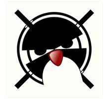 Linux Gamers Art Print
