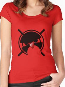 Linux Gamers Women's Fitted Scoop T-Shirt