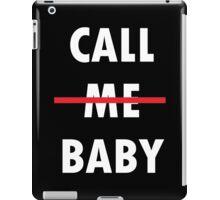 Call Me Baby - Exodus  iPad Case/Skin