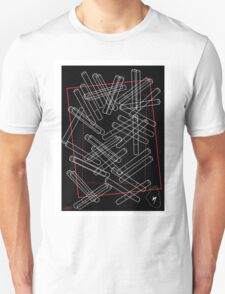 'Dropped Cigarettes' design by LUCILLE T-Shirt