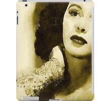 Hedy Lamarr Hollywood Star by John Springfield iPad Case/Skin