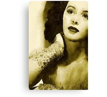 Hedy Lamarr Hollywood Star by John Springfield Canvas Print