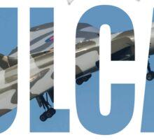 Vulcan Bomber Sticker