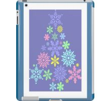 Colorful Snowflake Christmas Tree iPad Case/Skin