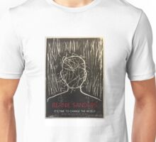Bernie Sanders - It's Time To Change The World Unisex T-Shirt