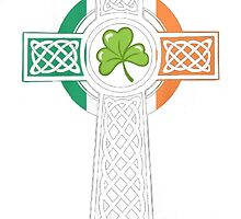 IRISH CROSS by HotTShirts
