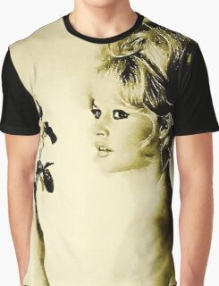 Brigitte Bardot Hollywood Icon by John Springfield Graphic T-Shirt