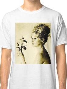 Brigitte Bardot Hollywood Icon by John Springfield Classic T-Shirt