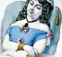 Beautiful dreamer - 1907 - Currier & Ives by CrankyOldDude