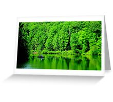 Fishing on Chris Green Lake    ^ Greeting Card