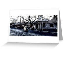 beijing sidestreet Greeting Card