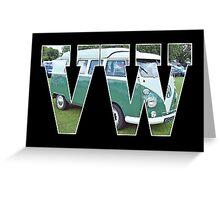 VW Transporter Greeting Card