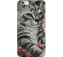 Kitty in the Blossom iPhone Case/Skin