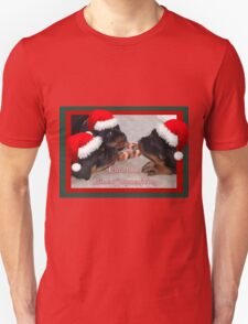 A Time Of Joyous Giving Greeting Vector Unisex T-Shirt