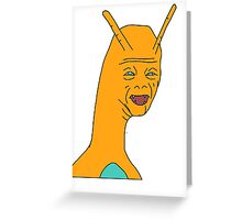 Weird Charizard Greeting Card