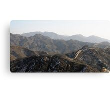 great wall 004 Canvas Print