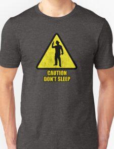 "Freddy Krueger ""Caution Don't Sleep"" T-Shirt"