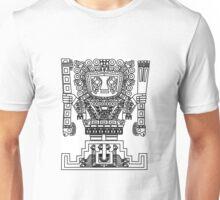 Totem azteque  Unisex T-Shirt