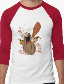 Captain Caveman Men's Baseball ¾ T-Shirt