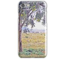 Rolling hills on the horizon iPhone Case/Skin