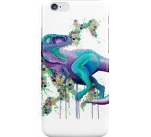 Floral Trex iPhone Case/Skin