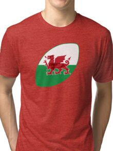 Rugby Wales Tri-blend T-Shirt
