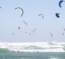 """""""Pretty as a Picture"""" Guinness World Record - Kitesurfing Sticker"""