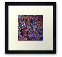 """""""Lost"""" from an orginal Acrylic & Ink Framed Print"""