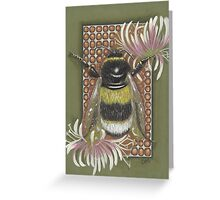 Bumble Bee. Greeting Card