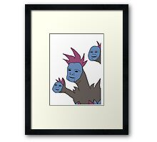 Cute Hydreigon Framed Print