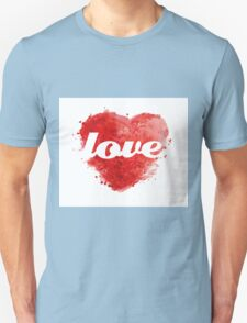 LOVE - heart T-Shirt