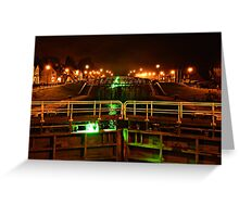 Fort Augustus By Night Greeting Card