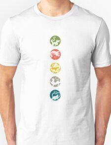 Five Heavenly Beasts Unisex T-Shirt