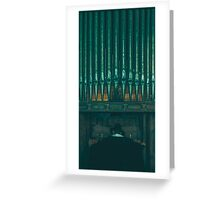 The Organist Greeting Card