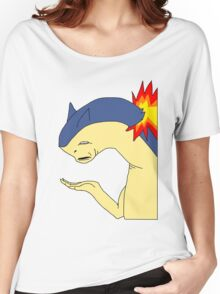 Typhlosion doesn't get it Women's Relaxed Fit T-Shirt