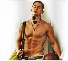Hot Channing Tatum Poster
