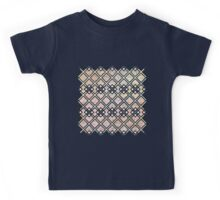 Texture Meets Patterned Color Kids Tee