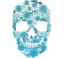 Flower Skull by MrYellow