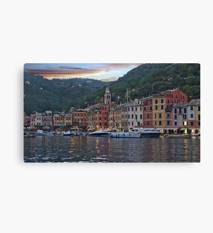 Dusky Portofino Canvas Print
