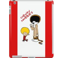 afro calvin and hobes iPad Case/Skin