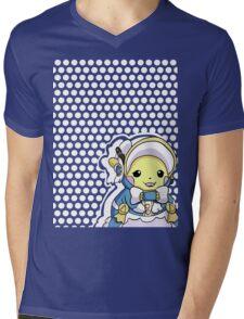 Pikachu Belle Mens V-Neck T-Shirt