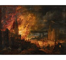 Pieter Segart, The Destruction of Sodom and Gomorrah Photographic Print