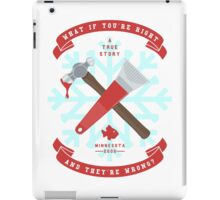 This Is A True Story iPad Case/Skin