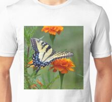 Yellow female Eastern Tiger Swallowtail Unisex T-Shirt