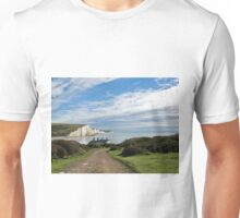 Seven Sisters and Coastguard Cottages Unisex T-Shirt