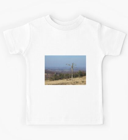 Lone Tree on Ashdown Forest Kids Tee