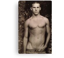 Vintage Channing Tatum Canvas Print